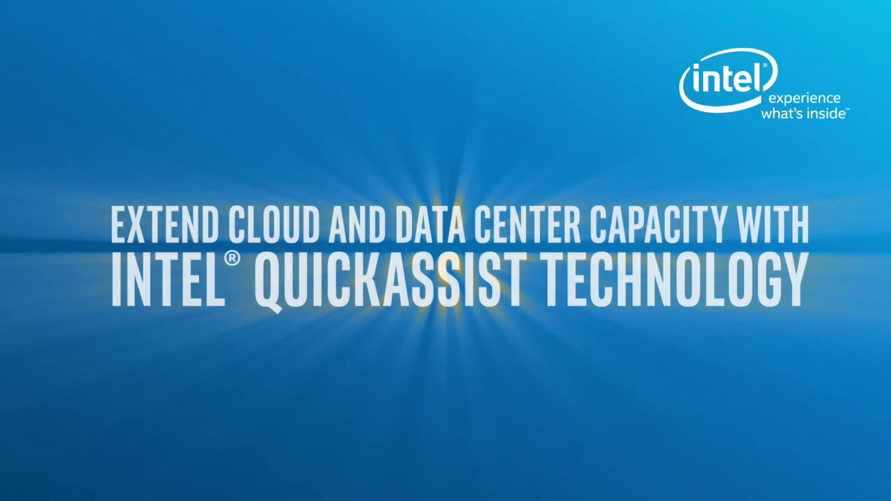 Chapter 1: Extend Cloud and Data Center Capacity with Intel® QuickAssist Technology