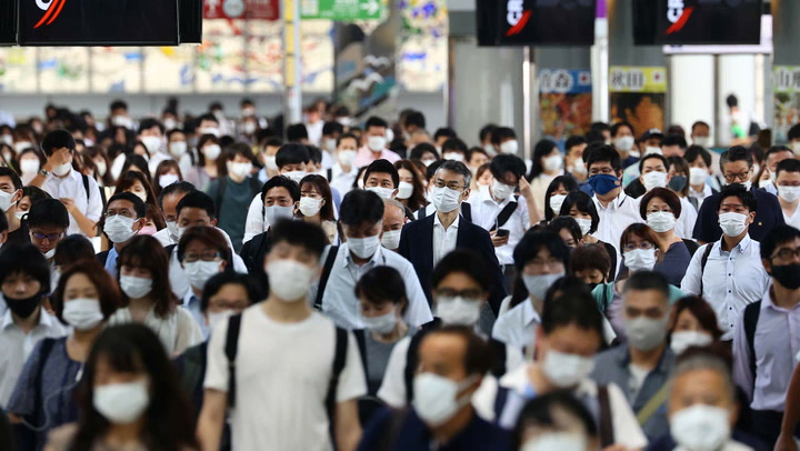 Tokyo officials plead with public to stay home amid Olympics excitement
