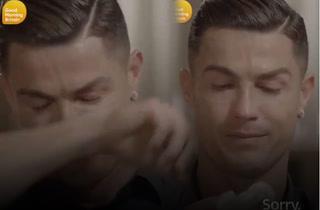 Cristiano Ronaldo llora tras ver imágenes inéditas de su padre: ''Era una persona alcohólica''