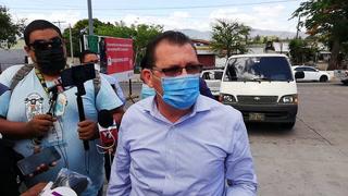 Declaraciones del alcalde de Santa Bárbara previo a su salida a El Salvador