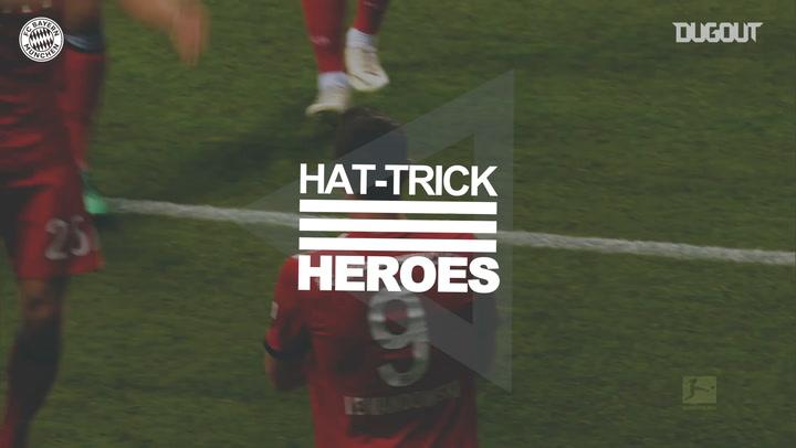 Hat-Trick Heroes: Robert Lewandowski Vs Frankfurt