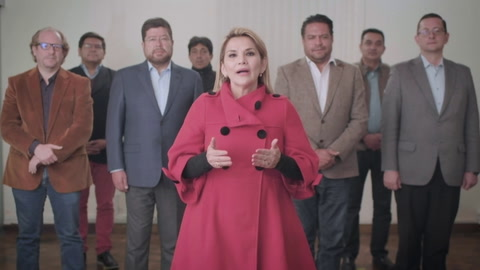 Presidenta de Bolivia renuncia a su candidatura en comicios de octubre