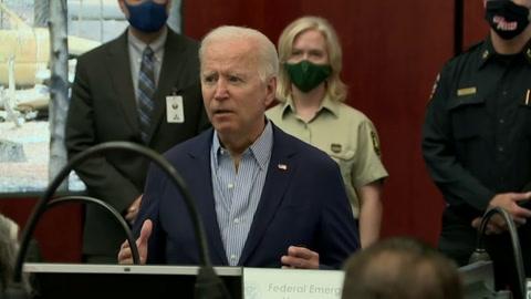 Biden va al oeste de EEUU arrasado, por incendios en vísperas de elección en California