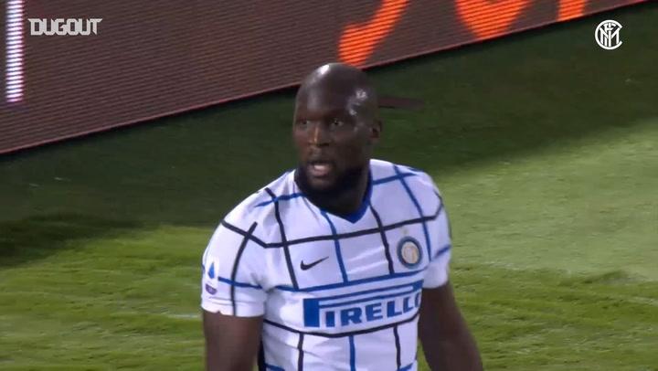 Lukaku's winning goal against Bologna