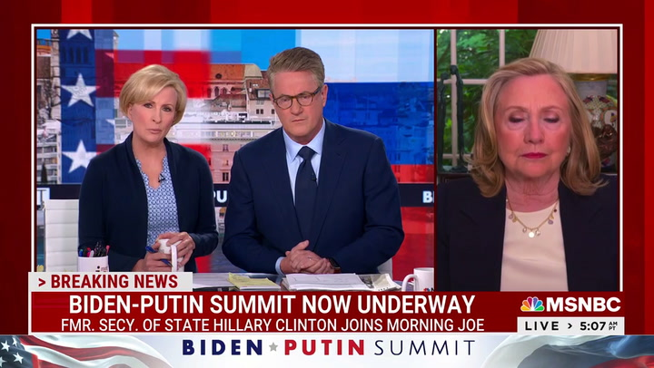 Hillary Clinton: Questioning Election Results Is Doing Putin's Work -- 'Very Dangerous'