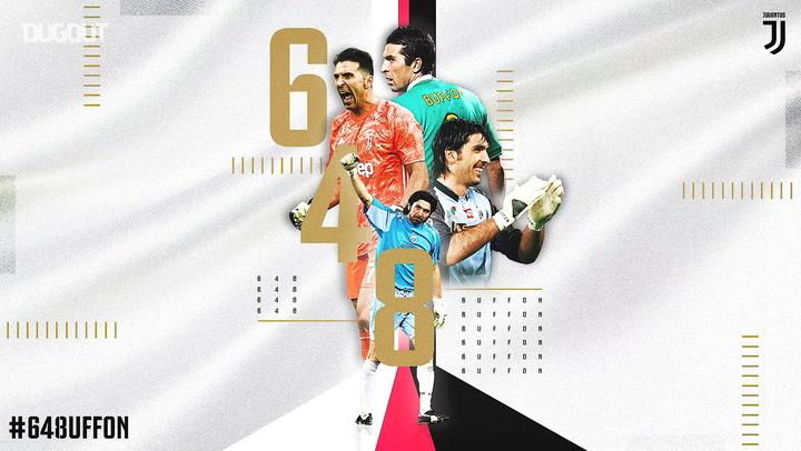 Gianluigi Buffon 648 Maçla Serie A'da En Fazla Maça Çıkan Oyuncu Oldu