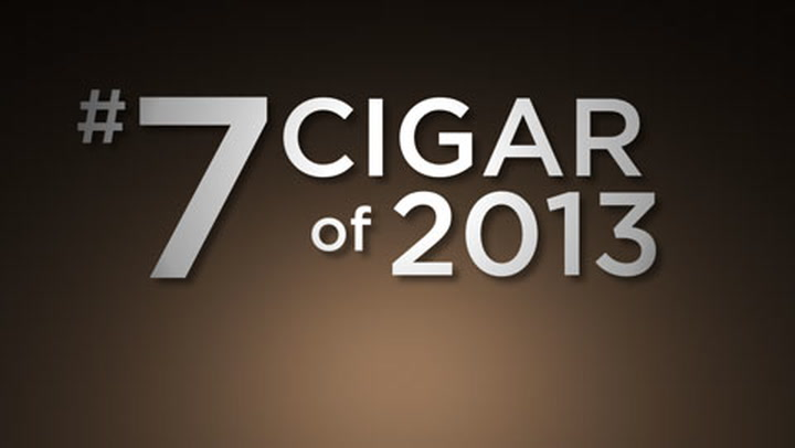 No. 7 Cigar of 2013