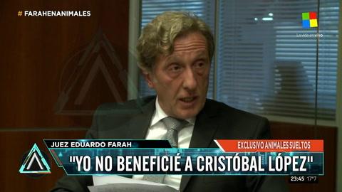 El juez que liberó a Cristóbal López defendió su fallo: Está bien dictado