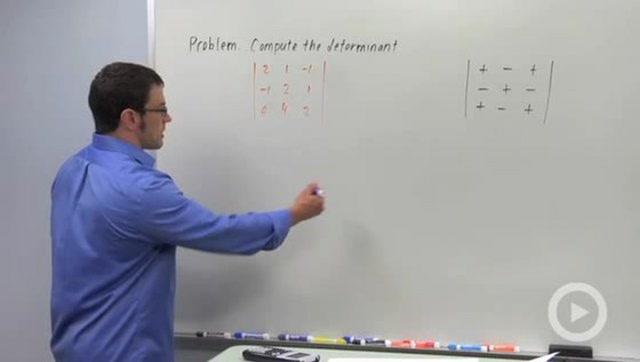 3x3 Determinants - Problem 1