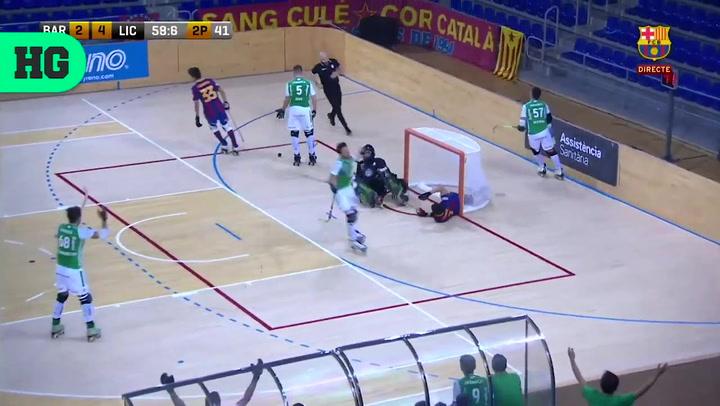 El resumen del Barça-Liceo de OK Liga