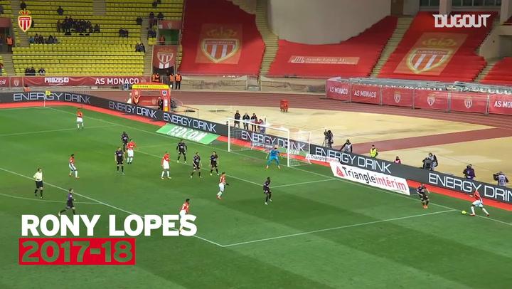 AS Monaco's top five goals against Girondins de Bordeaux
