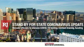 Nevada COVID-19 Response provides an update on on testing, contact tracing, and funding plan