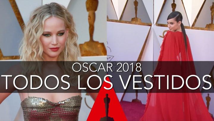 Todos los \'looks\' de la alfombra de los Oscar 2018