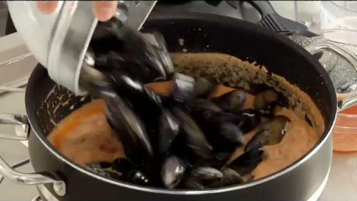 Hvordan lage deilige dampede blåskjell