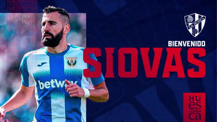 El Huesca oficializa el fichaje de Siovas