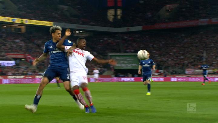 1. FC Köln - Hamburger SV 1. - 45. (2018 - 2019)