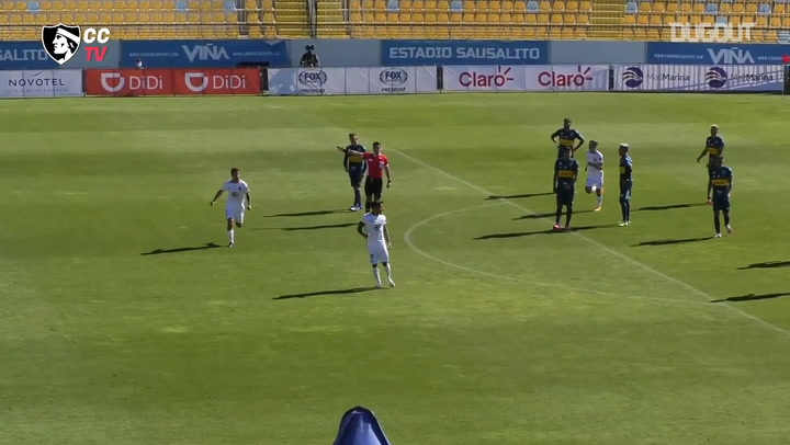 Marcos Bolados's equaliser vs Everton