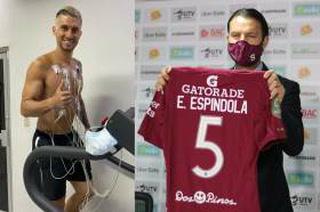 Esteban Espíndola por fin viaja a Costa Rica para unirse al Saprissa y lo hace en un jet privado