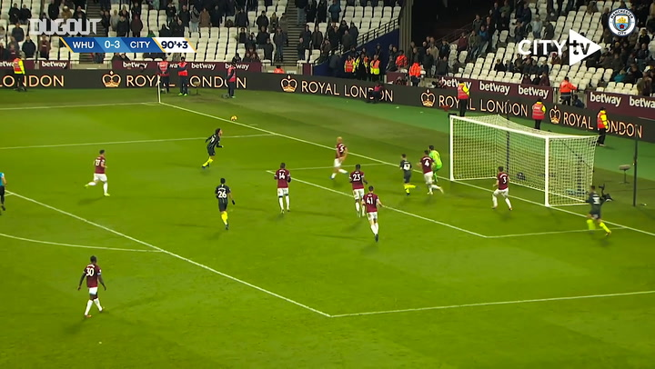 Manchester City's greatest goals away at West Ham