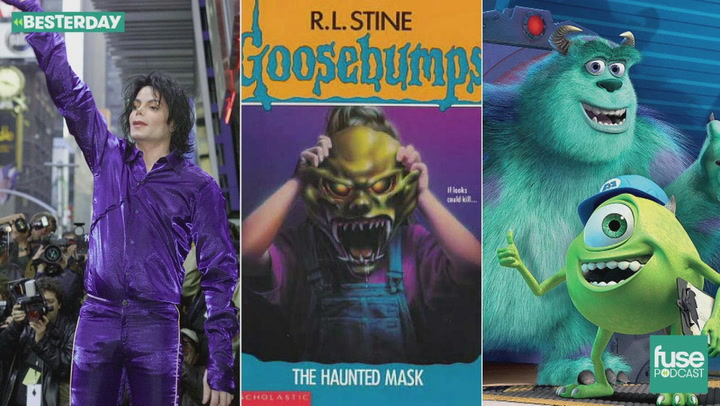 RL Stine Spookiness, Monsters, Inc and Michael Jackson: Besterday Podcast