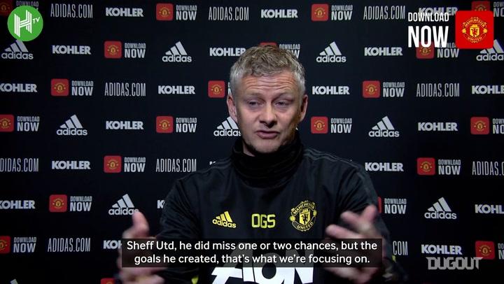 Solskjaer: 'Rashford is going to score soon'