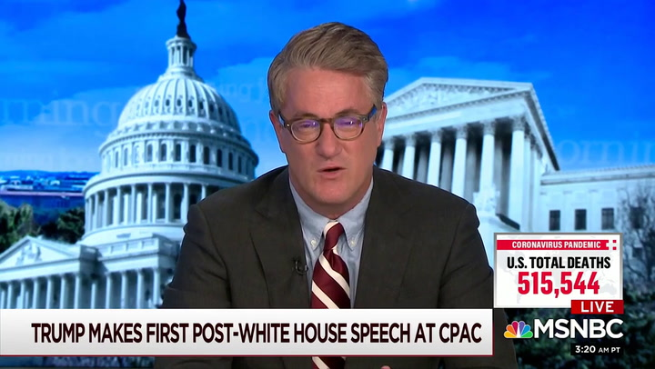 Scarborough Compares Trump to Benedict Arnold -- 'He Tried to Commit Insurrection Against the United States'