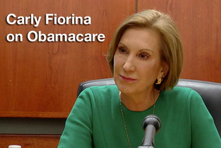Carly Fiorina on Obamacare