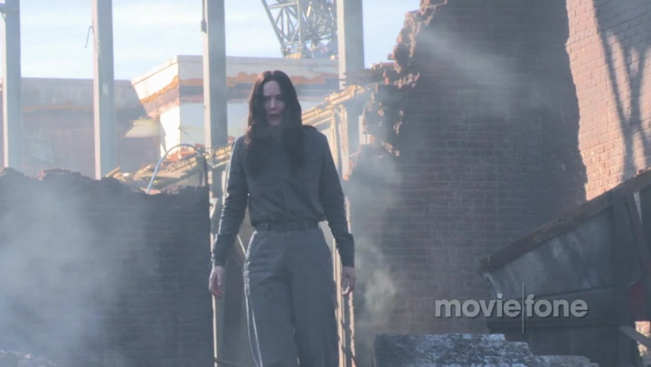 'The Mockingjay Lives: The Making of Mockingjay - Part 1' Exclusive Clip