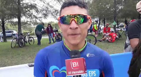 Palabras ciclista Nelson Torres ganador de la categoría Sub-23