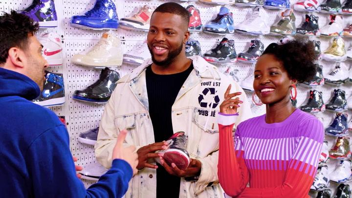 Sneaker Shopping: Lupita Nyongo: