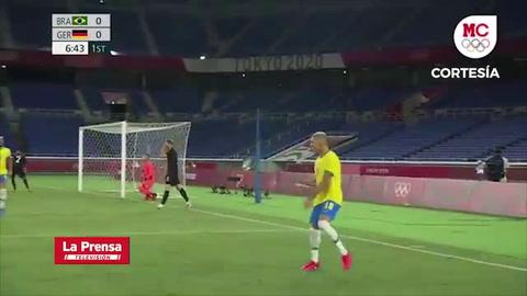 Brasil 4 - 2 Alemania (Juegos Olímpicos Tokio2020)