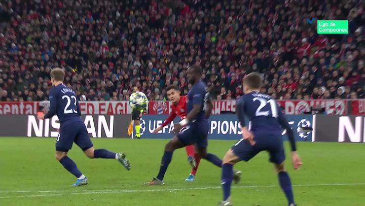 Champions League: Bayern-Tottenham. Así fue la actuación de Coutinho, con gol incluido