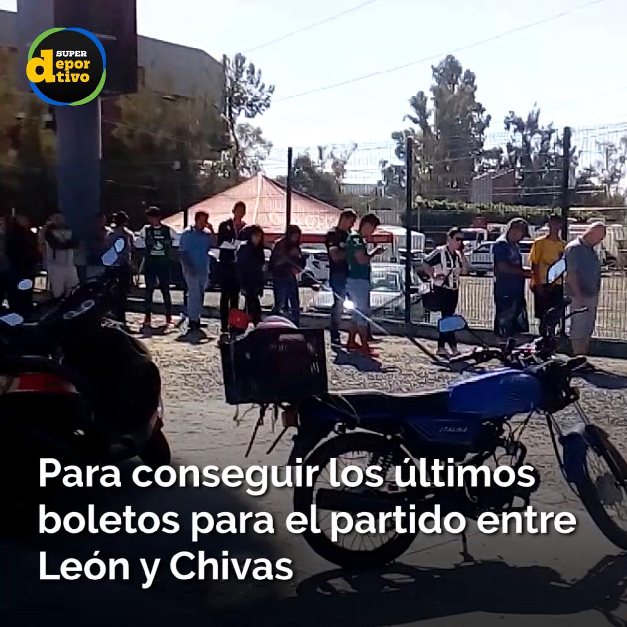 Nadie quiere perder su boleto para León vs Chivas
