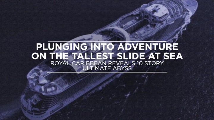 Plunging Into Adventure On The Tallest Slide At Sea: Royal Caribbean Reveals 10-Story Ultimate Abyss