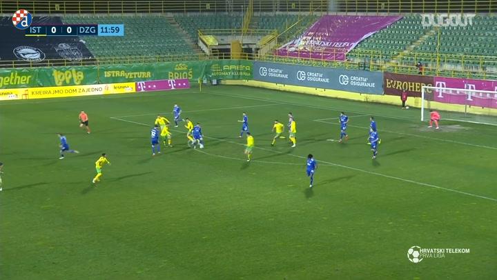 Atiemwen strike brings Dinamo the victory against Istra