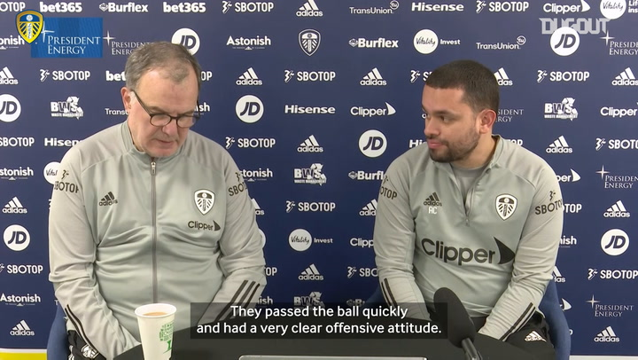 Bielsa highlights Leicester's attacking virtues