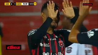 El gran gol de Alex López en la paliza del Alajuelense al Guanacasteca en Costa Rica