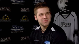 The Fargo Force Show: Forward Grant Meyers in studio