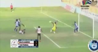 ¡Felino! John Bodden y sus cuatro atajadas en una misma jugada en la Liga de Ascenso de Honduras