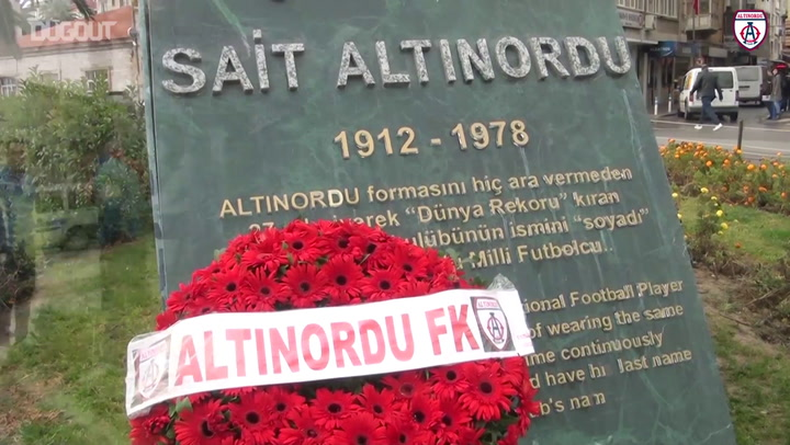 Sait Altinordu Commemorated On Anniversary Of Death