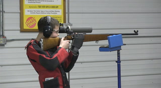 Teaching life lessons through youth rifle shooting