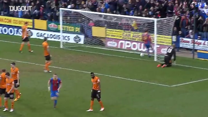 Crystal Palace's best goals 2012-13