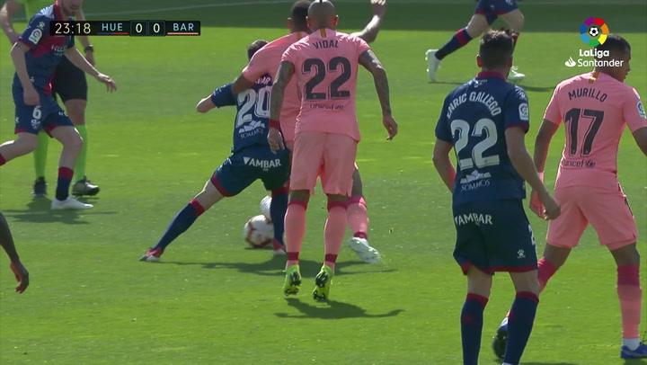 LaLiga: Huesca-Barça. Recuperación de Todibo