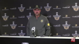 Golden Knights want to win the round robin – VIDEO