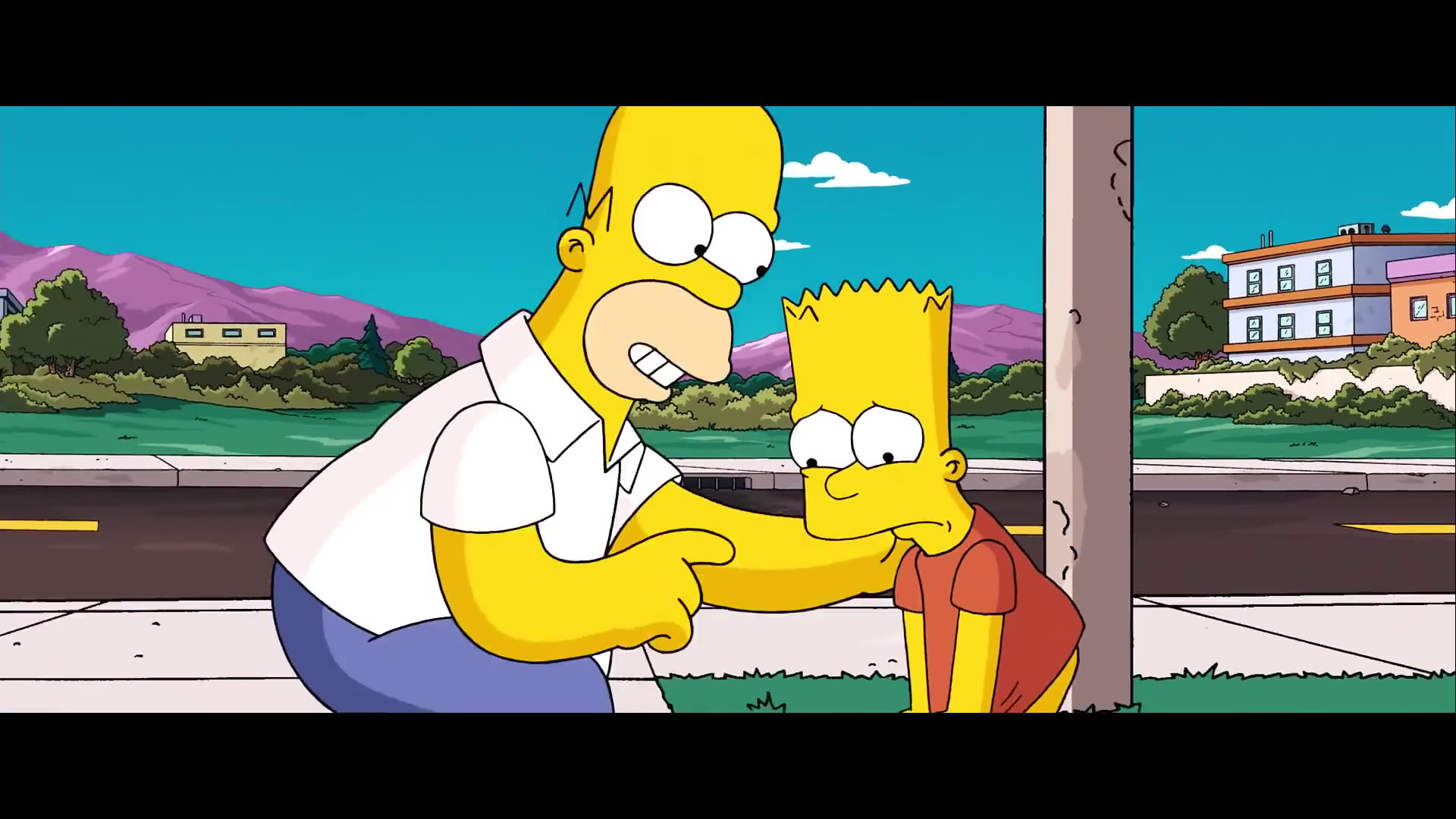 The Simpsons Movie Official Trailer