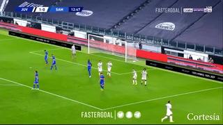 Juventus gana 2-0 a la Sampdoria con goles de Kulusevki y Bonucci