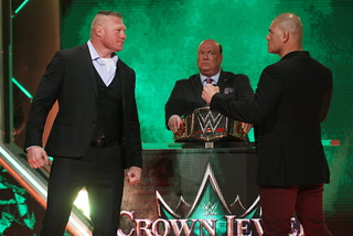 UFC, Boxing and WWE champions set to collide at WWE Crown Jewel Event