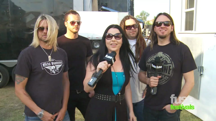 Festivals: Beale Street:  EVANESCENCE Interview