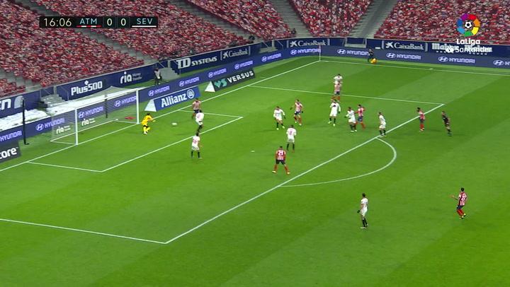 Gol de Correa (1-0) en el Atlético de Madrid 2-0 Sevilla