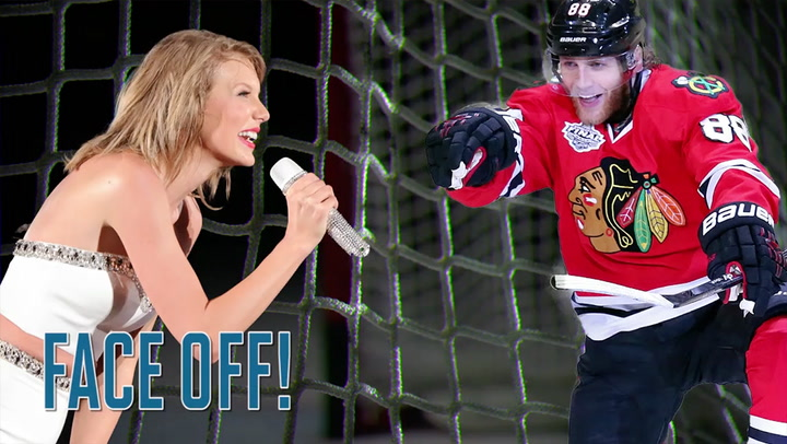 Taylor Swift Patrick Kane Is Distratced By Singer During Game Sports Illustrated